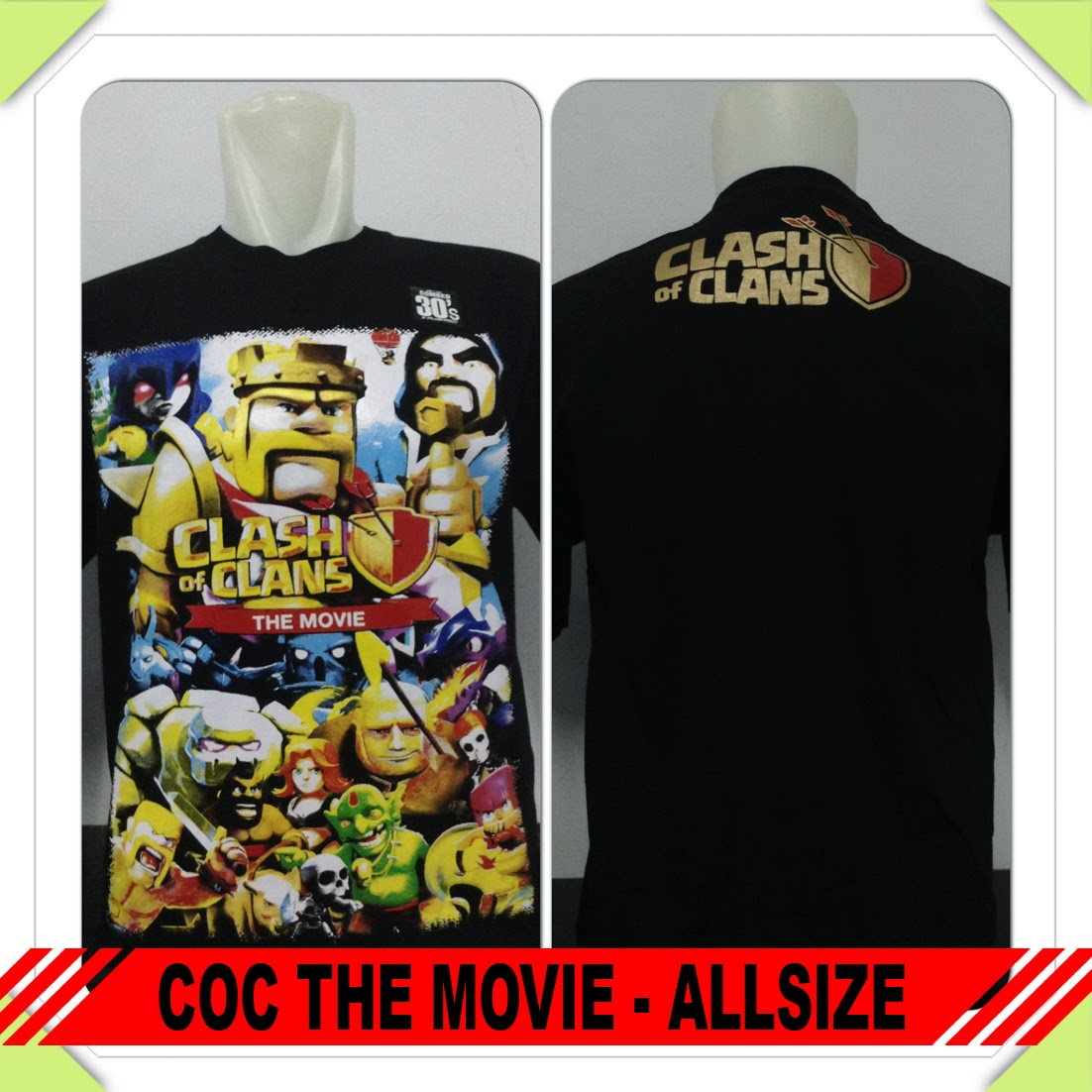 Baju COC The Movie