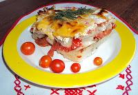 Zapiekanka z ziemniaków i pomidorów