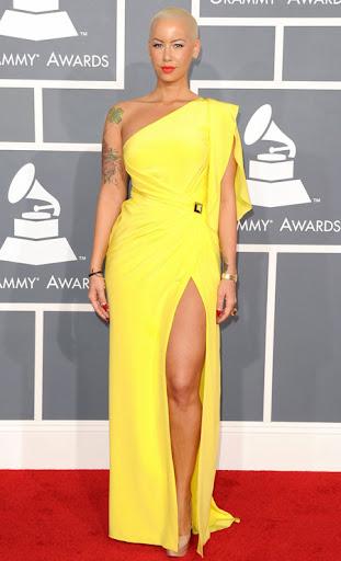 Амбър Роуз наградите Грами 2012