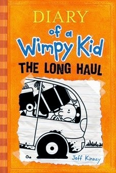 bookcover of THE LONG HAUL (Wimpy Kid #9) by Jeff Kinney