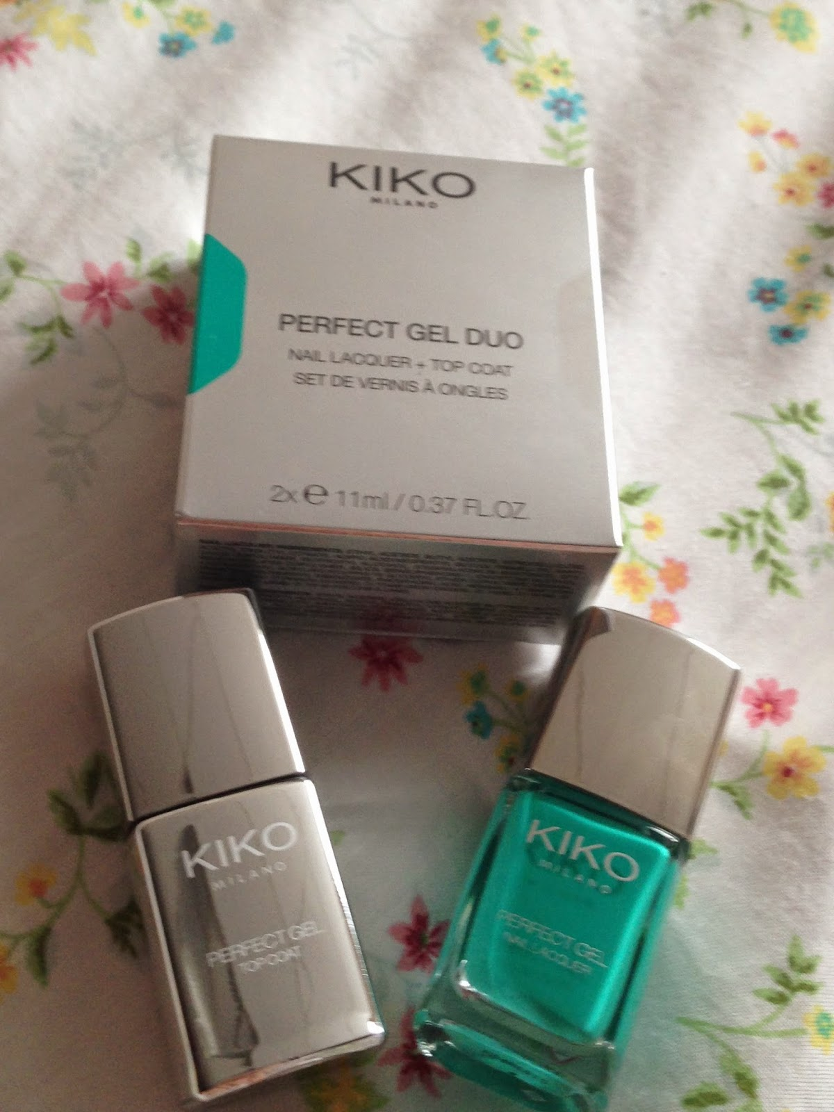 Vernis Spring Green de chez Kiko de la collection Perfect Gel Duo