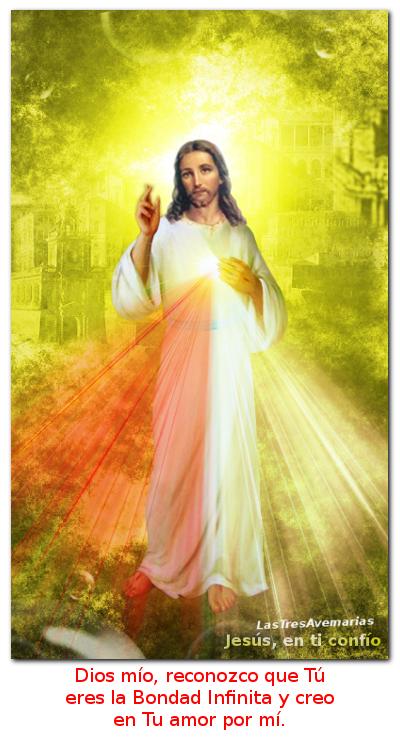 jesus misericordioso es la divina misericordia