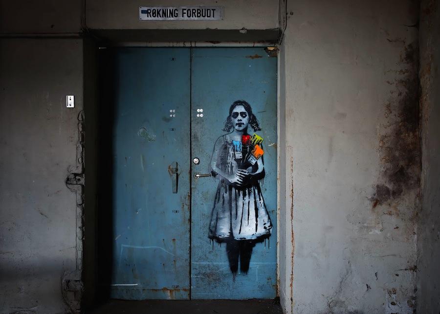 Stencil On Walls