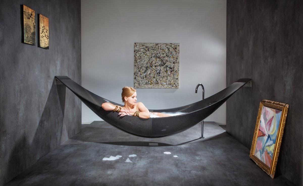 Rolls Royce of baths Splinter Works Vessel bath  Lisa Melvin Design