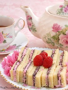 My Chocolate Raspberry Tea Sandwiches were featured on Country Living