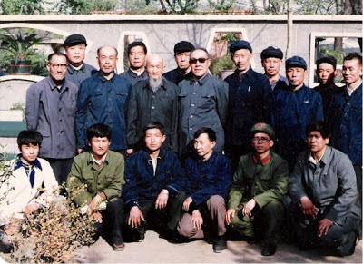 With Zhao Fujiang and Tian Jinzhong