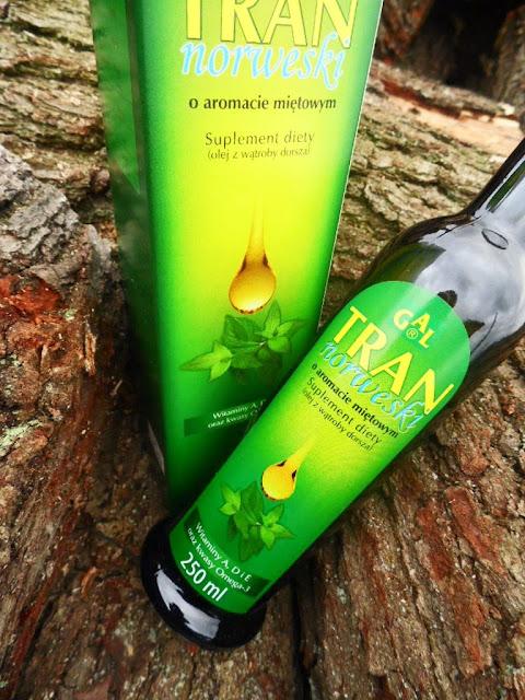 GAL | Tran norweski o aromacie miętowym | suplement diety (olej z wątroby dorsza) |  2 miesiące stosowania