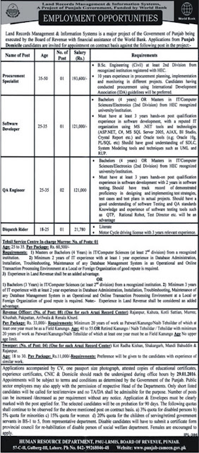 Jobs in Land Records Management & Information System