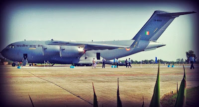 FIRST PHOTOS: India's C-17 Globemaster III Induction Day