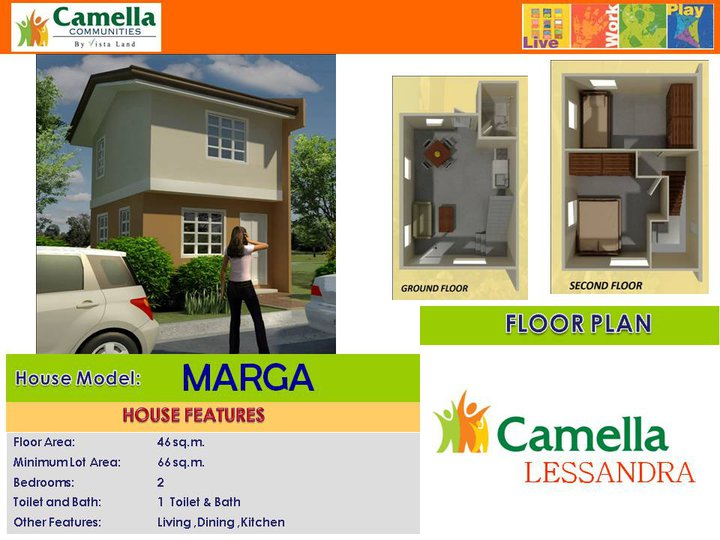 M Home & Design Part - 45: Camella Lessandra Iloilo By Camella Homes Iloilo Of Vista Land In Gorriceta  Avenue, Jibao-an, Pavia, Iloilo, Philippines | Erecre Group Realty, ...
