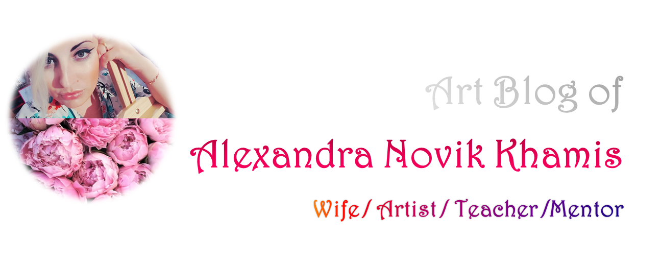 Art Blog of Alexandra Novik Khamis