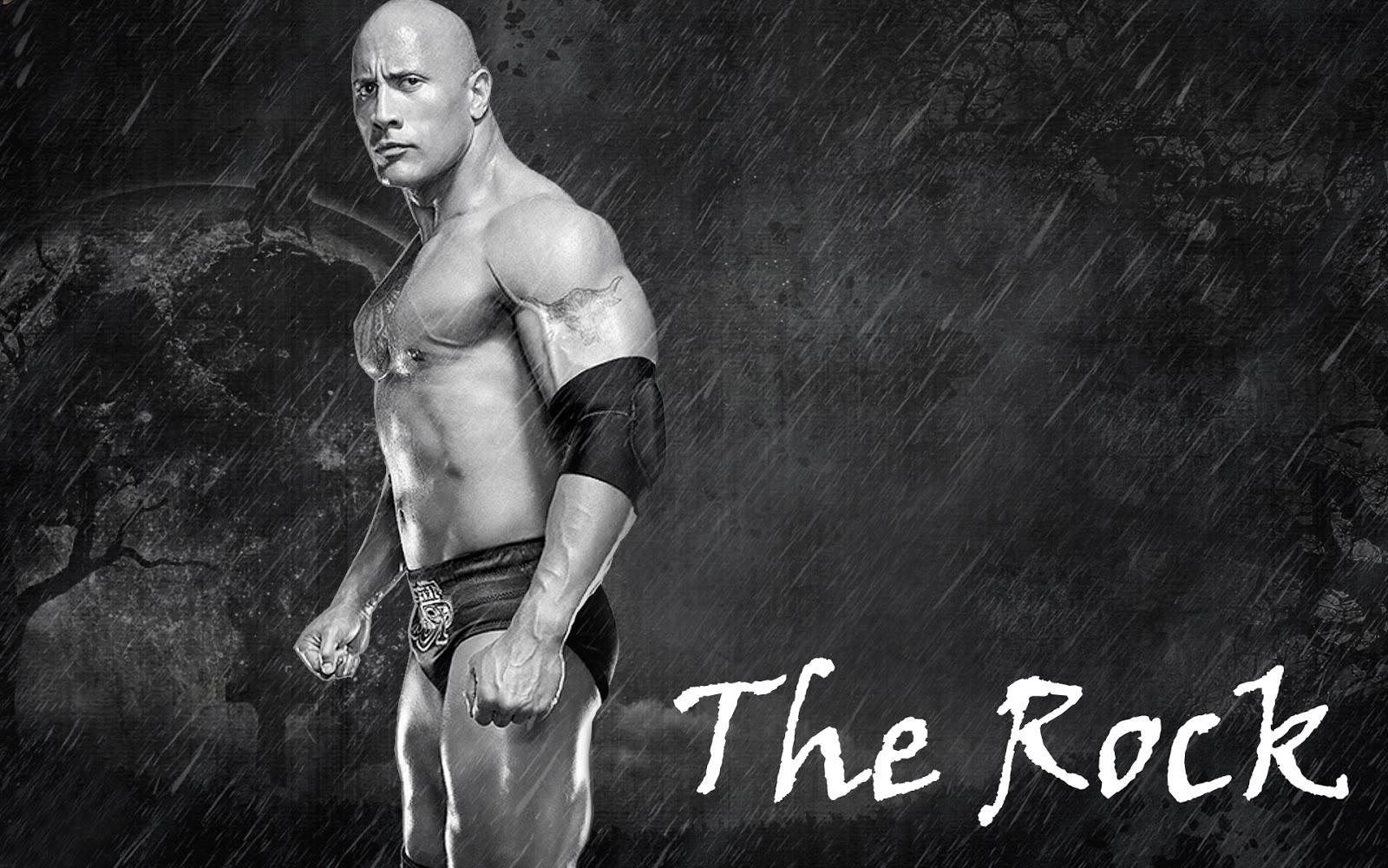 The Rock in WWE latest hd wallpaper