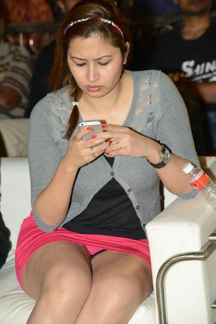 Jwala Gutta in mini skirt