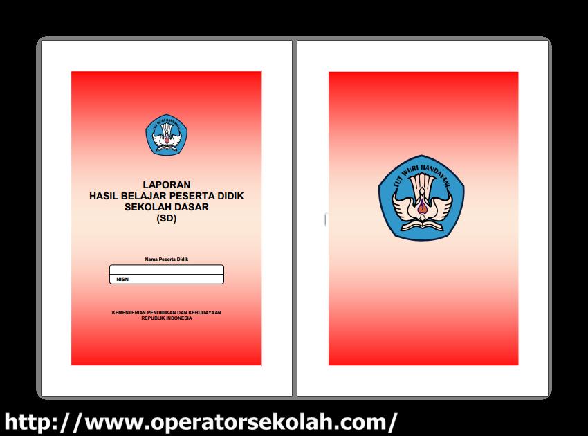 Download contoh rapor raport sd smp dan sma kurikulum 2013 lengkap