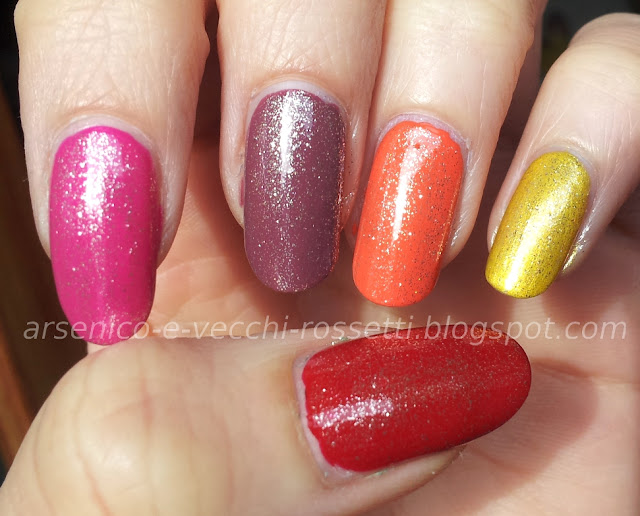 Essence Special Effect! Topper #06 You're a Gold Mine swatch
