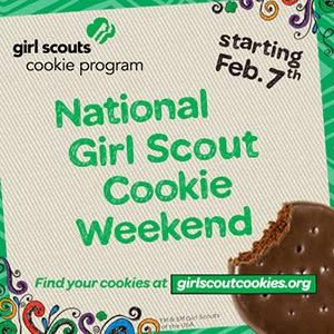 keeping it simple national girl scout cookie weekend