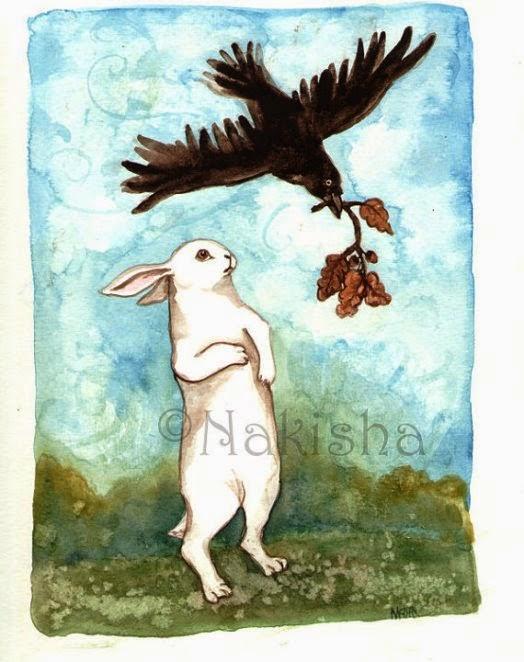 Quạ vào Thỏ