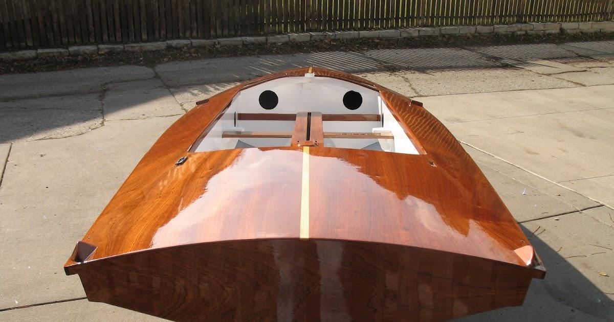 Montreal Sailing Woodie Fireball Lives On