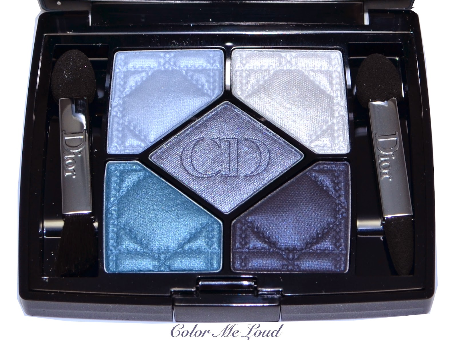 Dior 5 couleurs eyeshadow palette 276 carr bleu from for Carre bleu