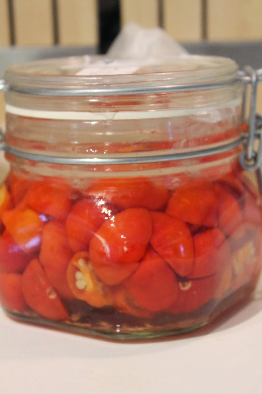fermenterad chilisås recept
