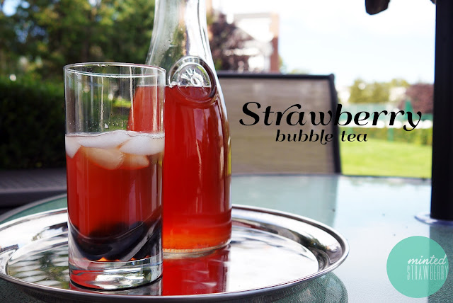 Strawberry Bubble Tea - last call for summer! - Minted ...