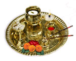 Aarti Thali with all the necessary things