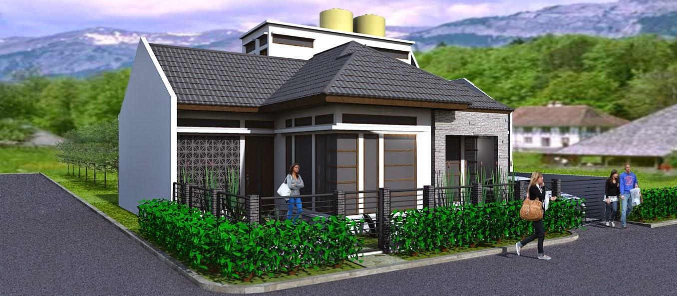 Desain Rumah Minimalis 1 Lantai Di Hook