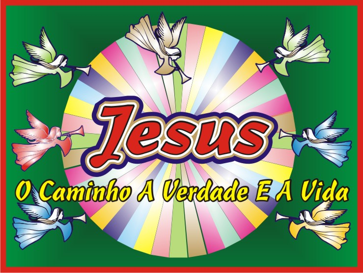 Jesus Cristo Slogan of the Brotherhood Campaign 2012