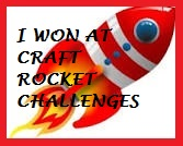 2 x Craft Rocket Winner