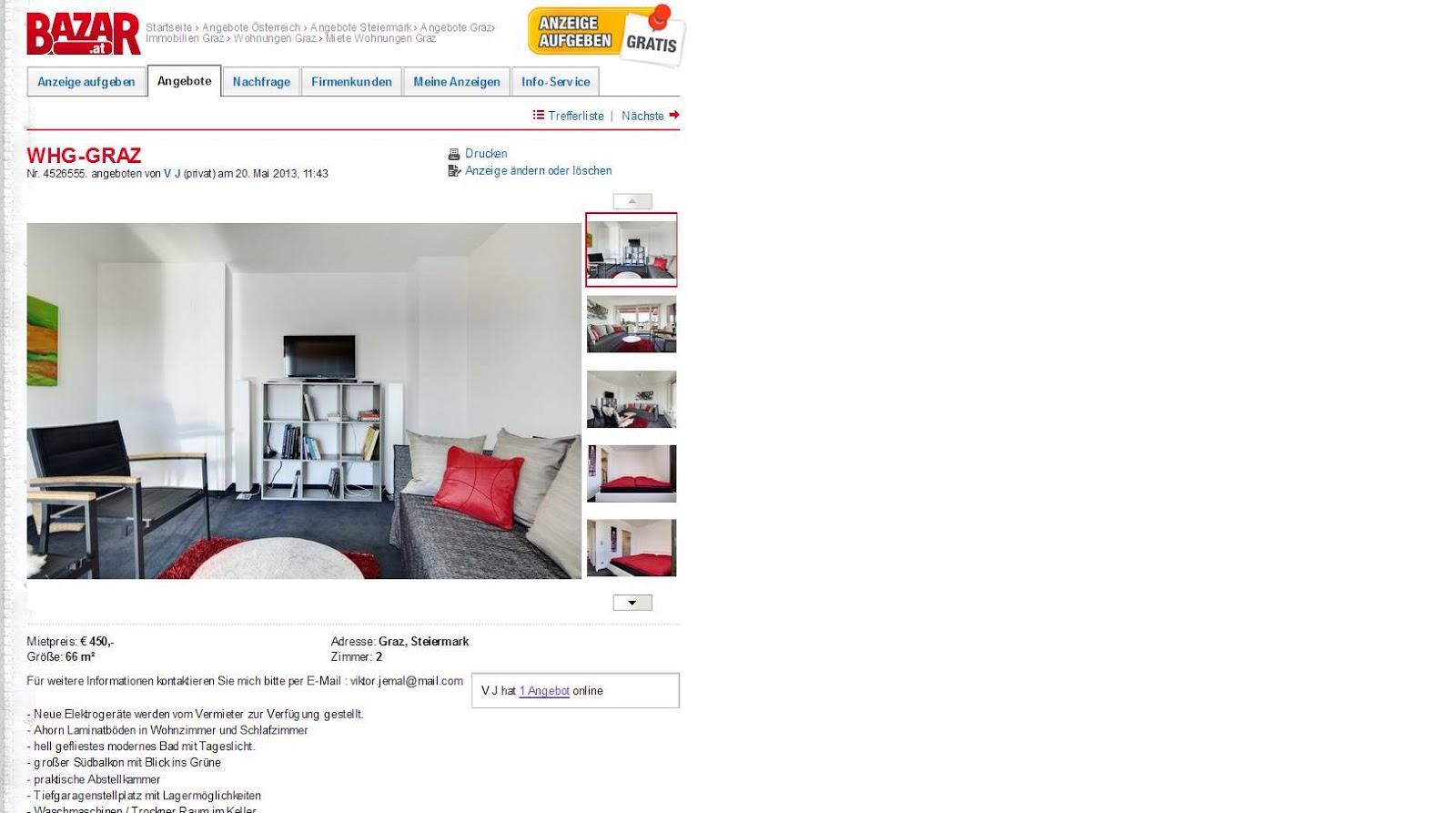 graz steiermark wien 7 neubau wien. Black Bedroom Furniture Sets. Home Design Ideas