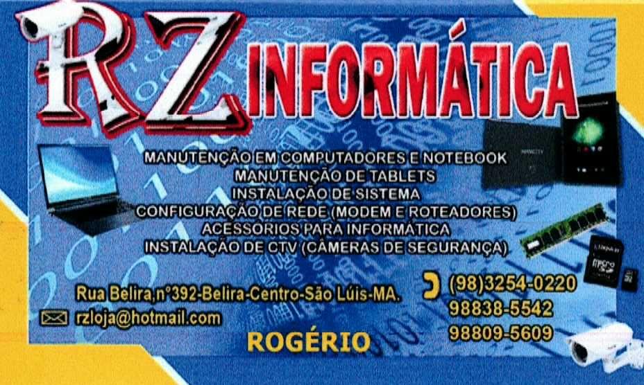 RZ Informática - Tudo em informatica