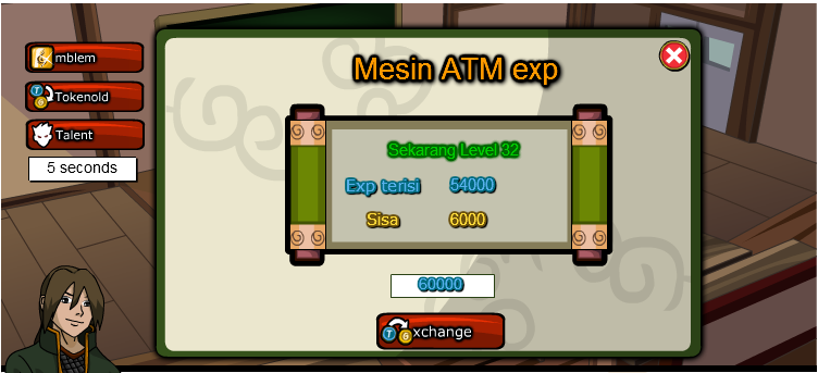 Cheat Ninja Saga ATM Gold EXP Auto Mission Terbaru 2013