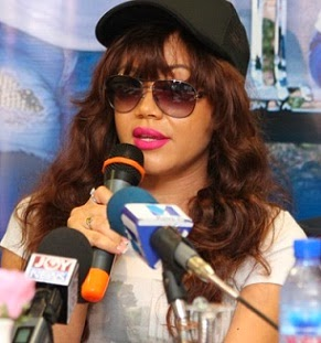 Has Jim Popped the question Nadia Buari spotted with an Engagement Ring