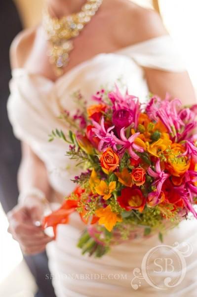 Inspired Details: A Blog for Baltimore Brides - A ... Tangerine Tango Wedding
