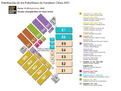 pabellones del furniture china 2013