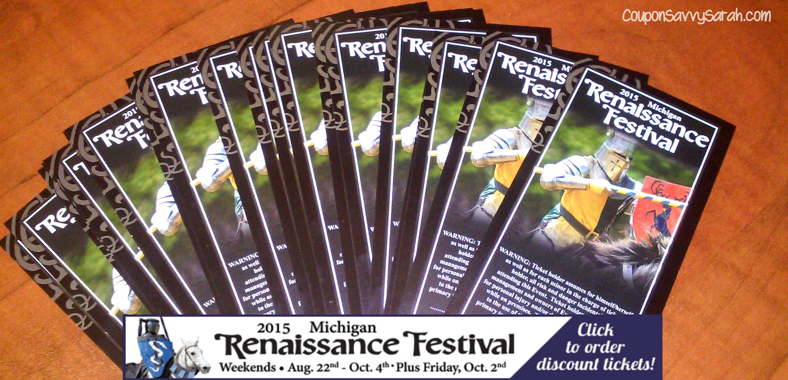 Michigan renaissance festival coupons