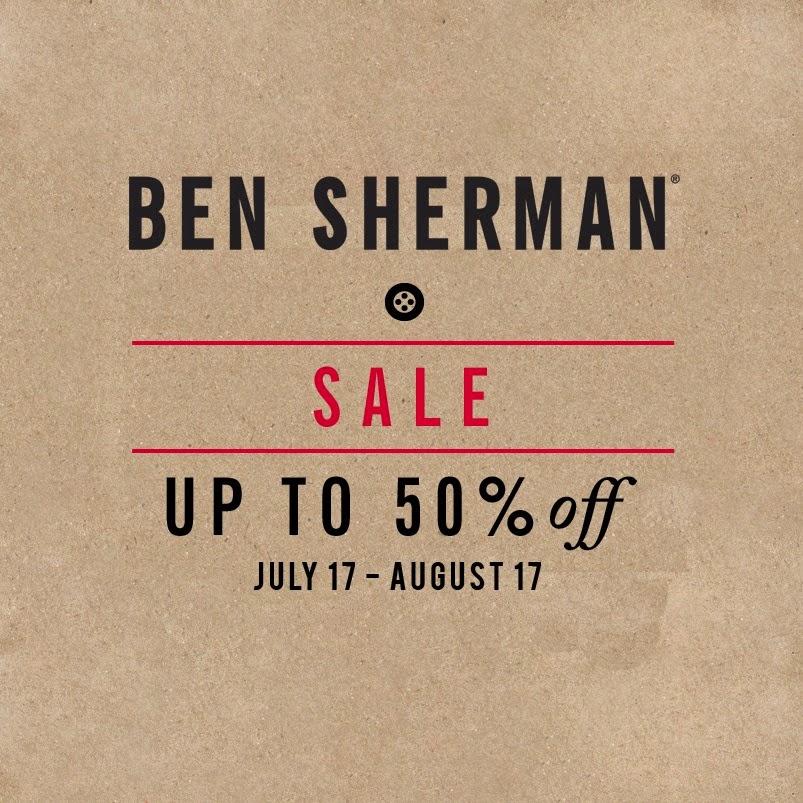 manila shopper ben sherman end of season sale july aug 2014. Black Bedroom Furniture Sets. Home Design Ideas