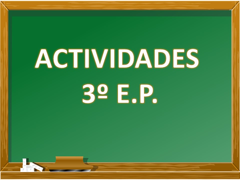 Actividades 3º