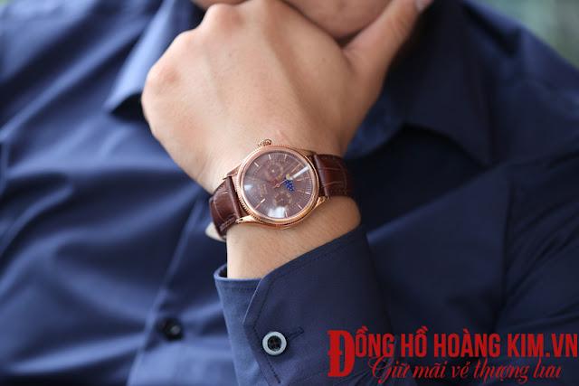 Đồng hồ nam rolex với vẻ đẹp sang trọng hút ánh nhìn