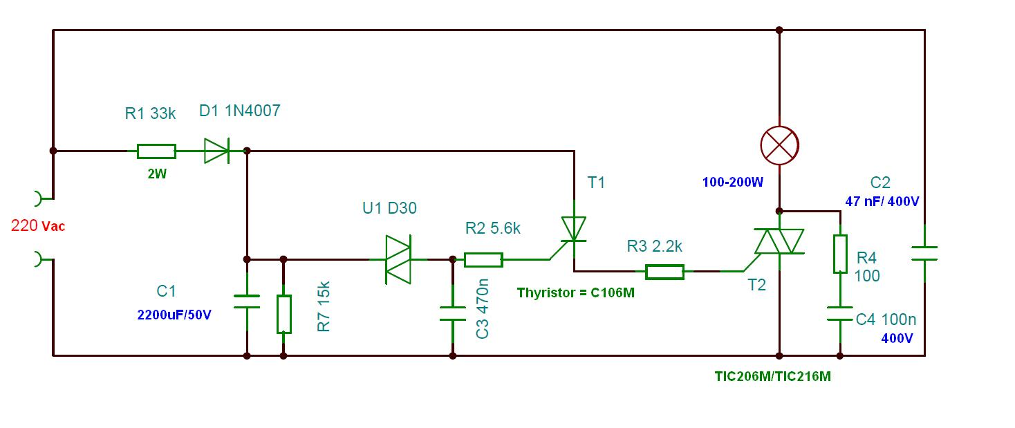 Simple Electronics Projects Just For Fun 2011 Timedelaycircuit Some Experiments A Time Delay Circuit Using Triacs