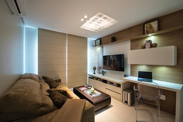 Home Office Sala De Tv ~ pode servir tanto para o trabalho quanto para a visita