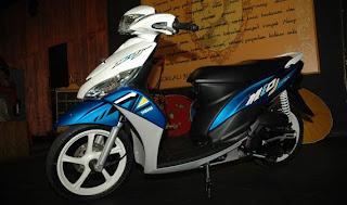 Modifikasi Yamaha Mio J 2013