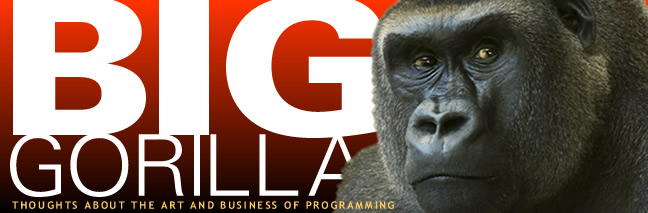 Big Gorilla - Stu Stern's Blog