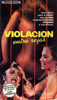 Violación entre rejas Jesus Franco