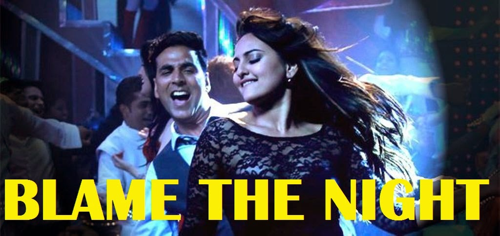 akshay kumar holiday movie song blame the night music video