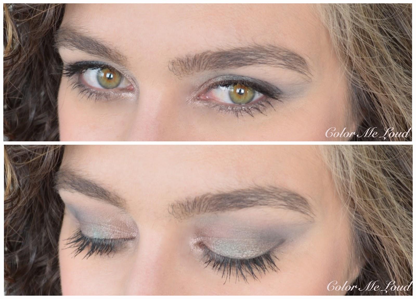 On the eyes: Lancôme My Paris Eye Shadow Palette