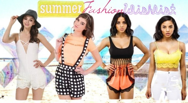 Summer Fashion Wishlist ASOS MY1STWISH MISSPAP.CO.UK SHEINSIDE