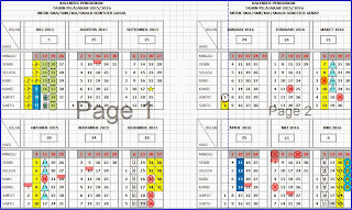 Kalender Pendidik (Kaldik) Tahun Ajaran 2015/2016 Lengkap TK/PAUD, SD, SMP dan SMA