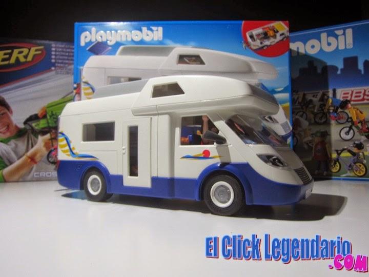 El click legendario marzo 2015 for Autocaravana playmobil