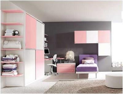 Dormitorios juveniles y modernos decorando mejor for Recamaras modernas ninas